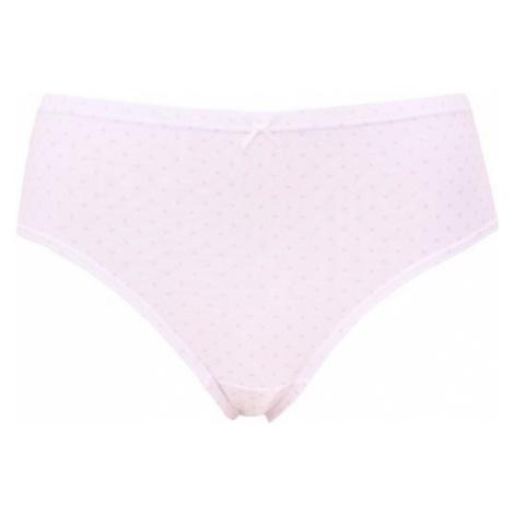 Dámske nohavičky Andrie biele s ružový vzorom (PS 2796 A)