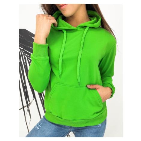 MODIVOS women's sweatshirt green BY0583 DStreet