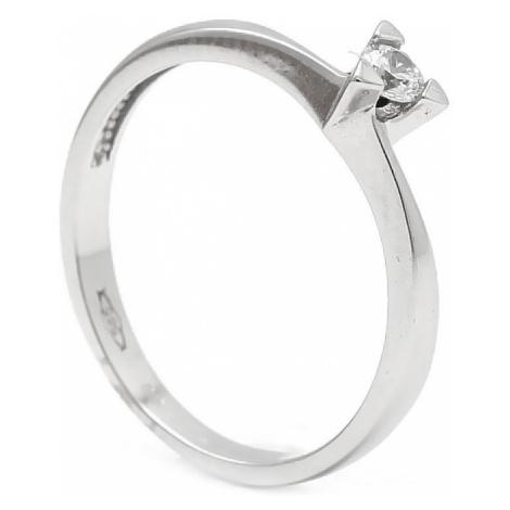 Zlatý zásnubný prsteň UNICE