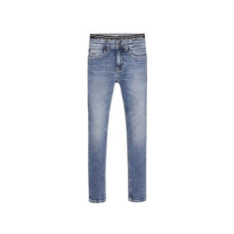 Calvin Klein Jeans SKINNY VINTAGE LIGHT BLUE Modrá