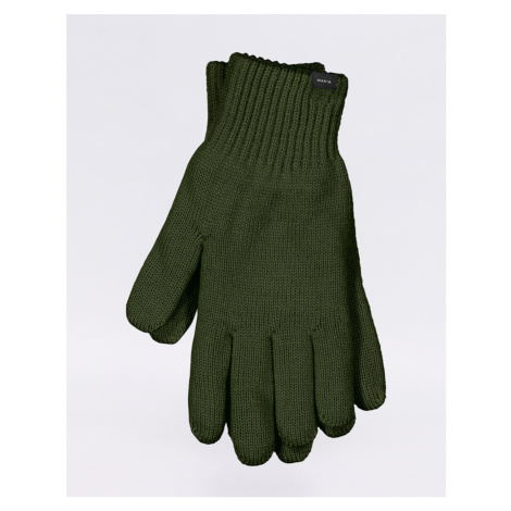 Makia Wool Gloves green