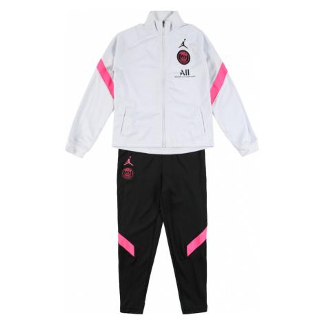 NIKE Športový úbor 'Paris Saint-Germain'  čierna / biela / ružová