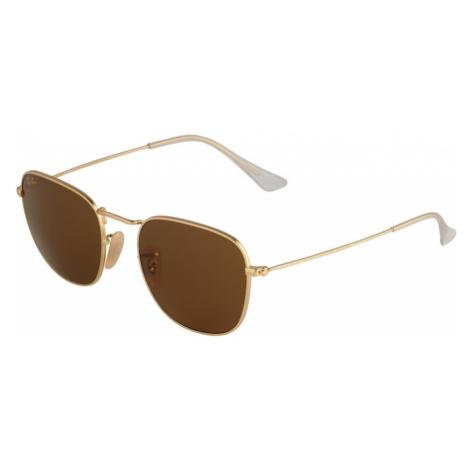 Ray-Ban Slnečné okuliare  zlatá / tmavohnedá