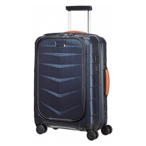 Samsonite Kabínový cestovný kufor Lite-Biz Spinner 86V 37 l - modrá