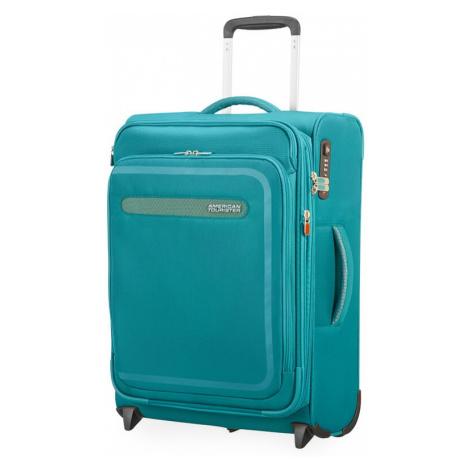 American Tourister Kabínový cestovný kufor AirBeat Upright EXP 45G 43/48 l - tyrkysová