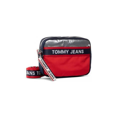 Tommy Jeans Kabelka Tjw Logo Tape Crossover Cb AW0AW08301 Tmavomodrá Tommy Hilfiger