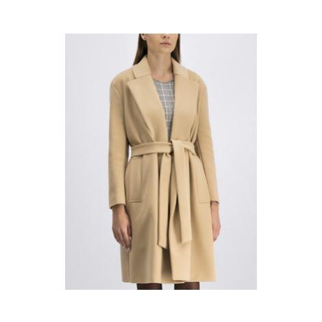 Patrizia Pepe Prechodný kabát 8S0254/A104-B663 Béžová Regular Fit