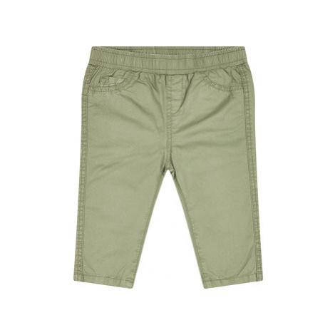 Primigi Bavlnené nohavice Navetta 45126062 Zelená Regular Fit