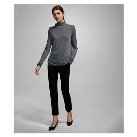 Sveter Karl Lagerfeld Sparkle Sweater W/ Logo