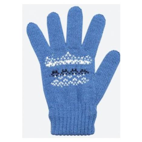 Detské pletené Merino rukavice Kama RB203 107