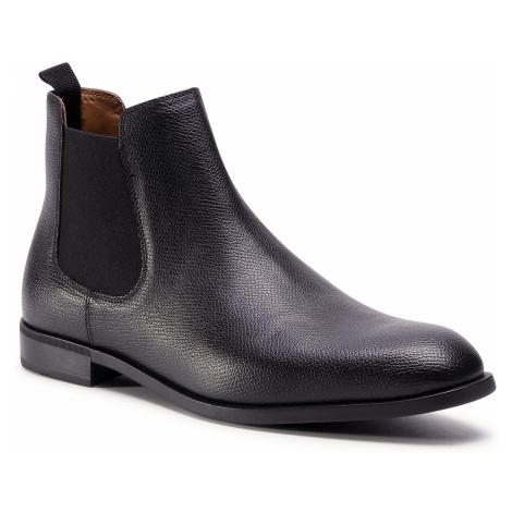 Kotníková obuv s elastickým prvkom EMPORIO ARMANI