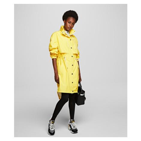 Bunda Karl Lagerfeld Waterproof Anorak W/ Logo - Žltá