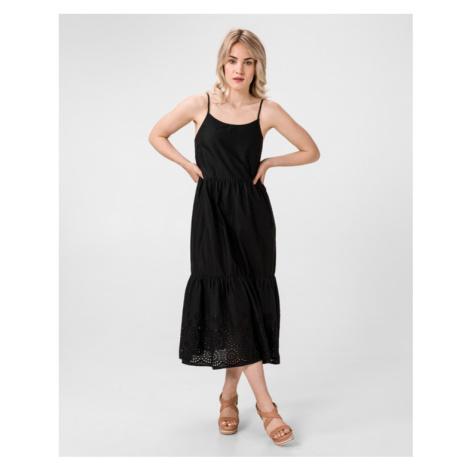 Vero Moda Halo Šaty Čierna