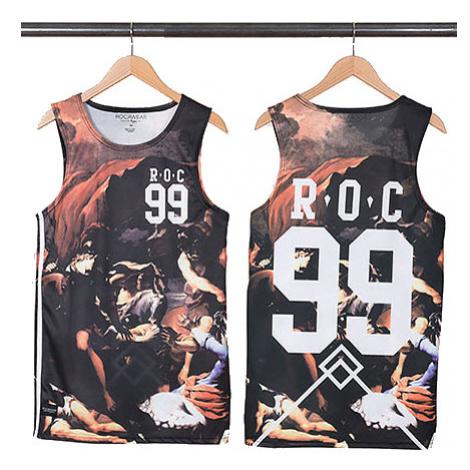 Rocawear Ceasar Basketball Tank Tops Black R1401T157-100 - Veľkosť:2XL