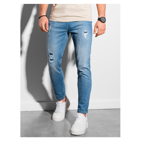 Pánske džínsy slim Ombre