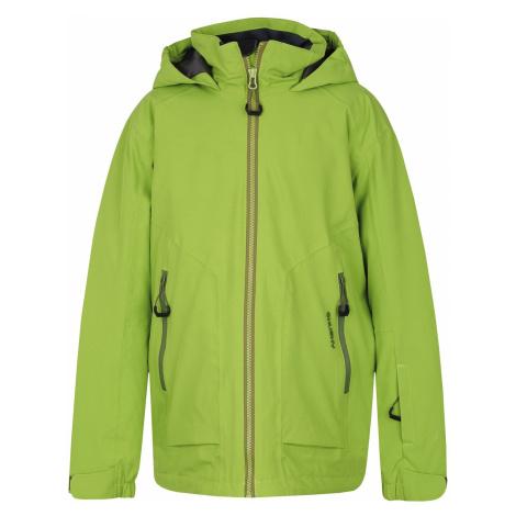 Husky Zengl Kids zelená, Detská ski bunda