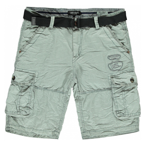 Cars Jeans Pánske bermudy Durras Short Cotton Stone Grey