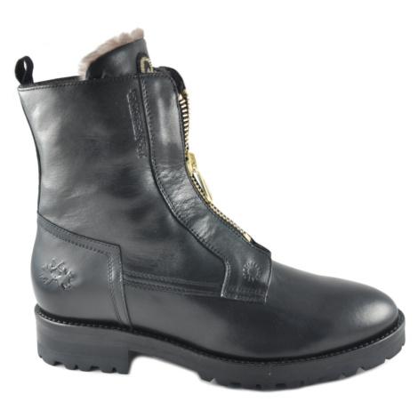 Členková Obuv La Martina Woman Boots Nappa Leather