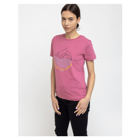 Dedicated T-shirt Mysen Protect Our Oceans Rose
