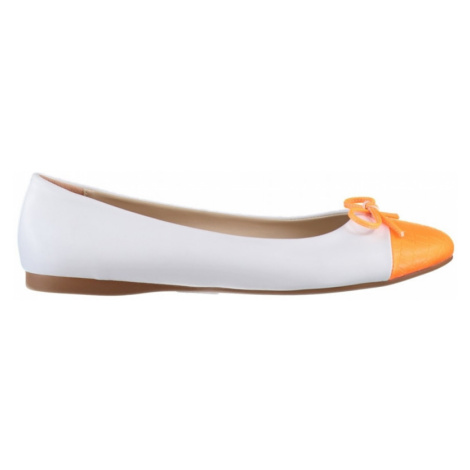 Trendyol Orange Phosphor Nose Detailed Women's Babet