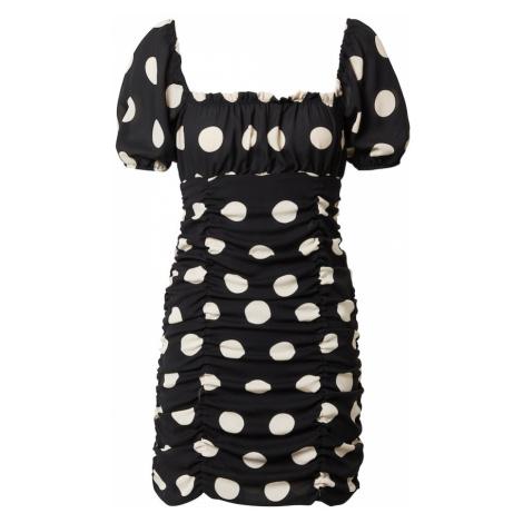 Miss Selfridge Šaty  biela / čierna