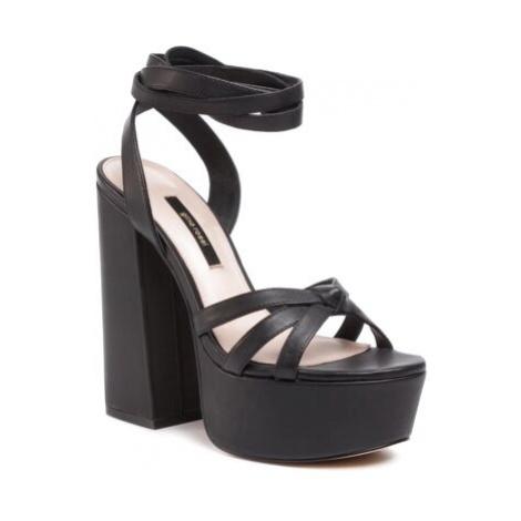 Sandále Gino Rossi 119AL3309 Prírodná koža(useň) - Lícova