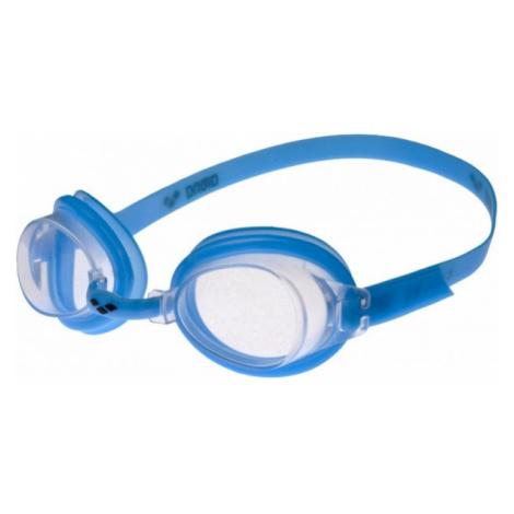 Arena BUBBLE 3 JR modrá - Detské plavecké okuliare