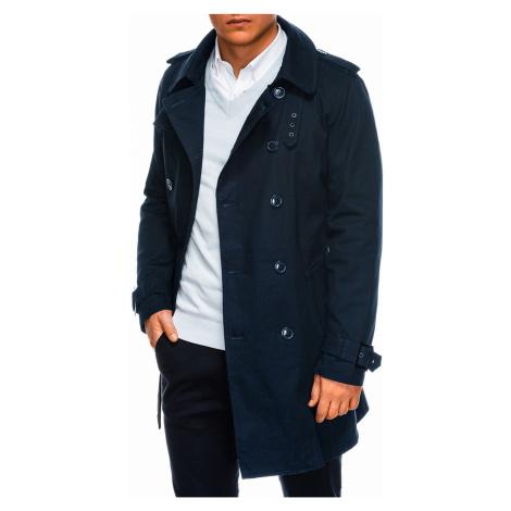 Jesenný kabát C346 - námornícky