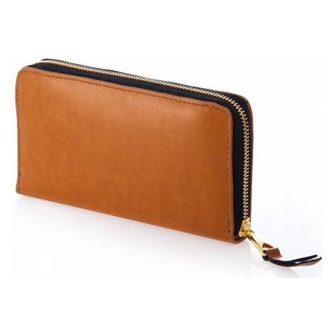 Dámska hnedá peňaženka felice p02 brown genuine Solier