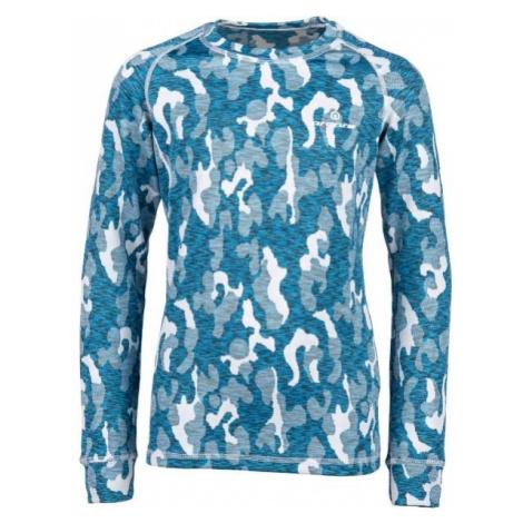 Arcore ELIAS modrá - Detské termo tričko s dlhým rukávom