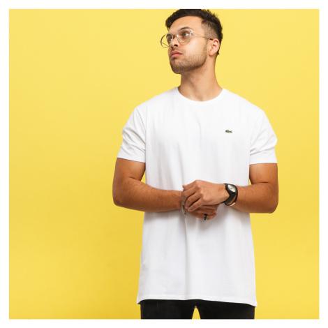 LACOSTE Base T-shirt biele