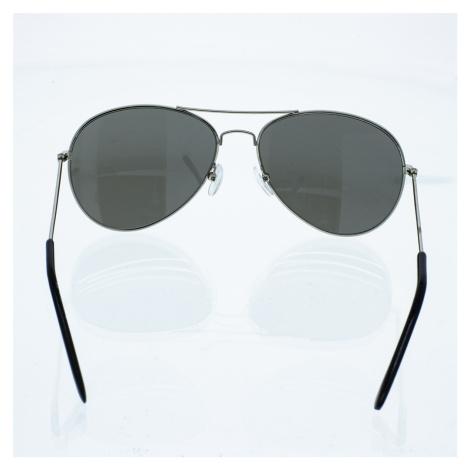 Slnečné okuliare pilotky Conor strieborné rámy zrkadlové strieborné sklá