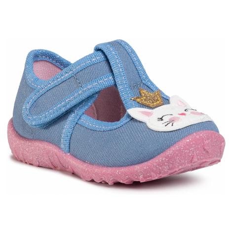 Papuče SUPERFIT - 1-009256-8500 Blau