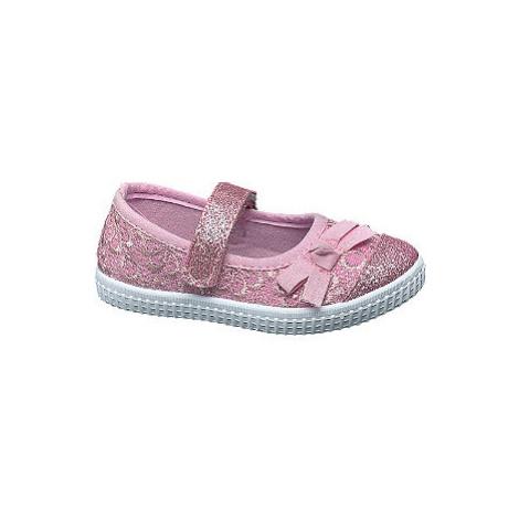 Ružové detské prezuvky Cupcake Couture