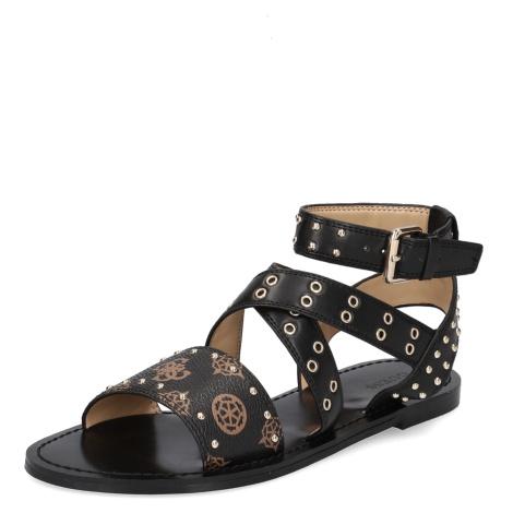 GUESS Sandále čierna