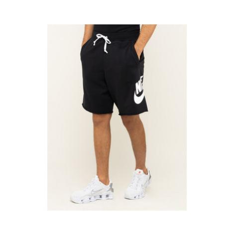 Nike Športové kraťasy Nsw French Terry Alumni Logo AR2375 Čierna Loose Fit