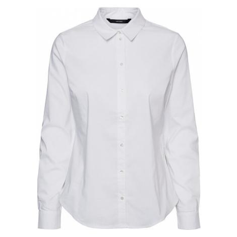 Vero Moda Dámska košeľa VMJULIE LS SHIRT GA COLOR Bright White