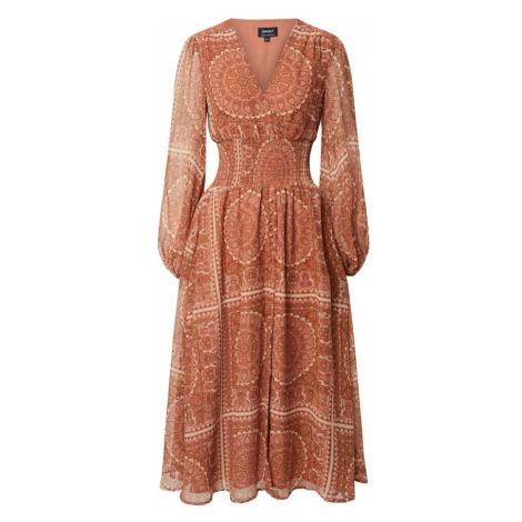 Bardot Letné šaty 'MARA'  oranžová / hnedá