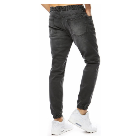Men's denim joggers anthracite UX2180 DStreet