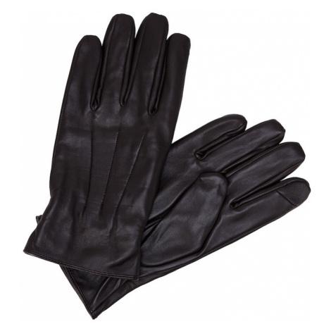 JACK & JONES Prstové rukavice  gaštanová
