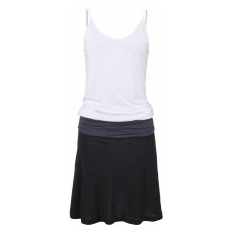 BEACH TIME Plážové šaty  biela / tmavosivá / čierna Beachtime