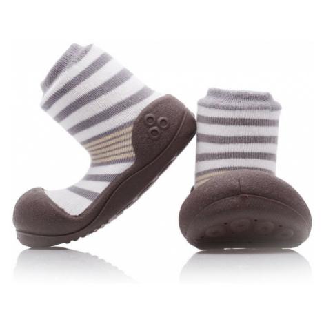 Hnedé topánky pre dojčatá a batoľatá