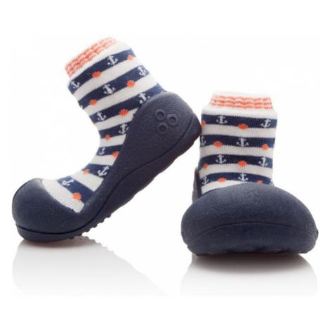 ATTIPAS Chlapčenské topánočky Marine, veľ. - modrá