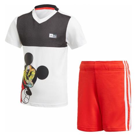 ADIDAS PERFORMANCE Športový úbor  biela / čierna / červená / zmiešané farby