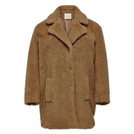 ONLY Carmakoma Prechodný kabát  hnedá