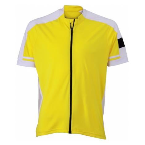 James & Nicholson Pánsky cyklistický dres JN454
