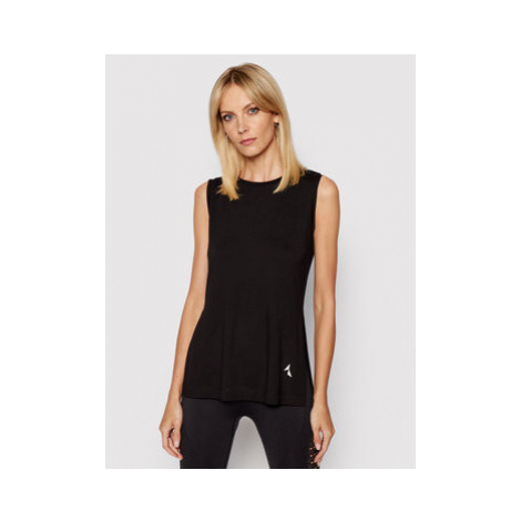 Carpatree Funkčné tričko Slit CPW-SHI-1001 Čierna Regular Fit