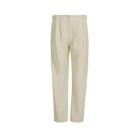 Patrizia Pepe Bavlnené nohavice Pantaloni/Trousers 2J2172/A3KN-B645 Béžová Regular Fit