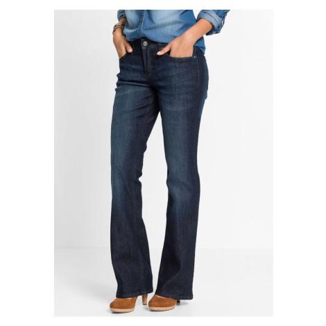Komfortné strečové džínsy BOOTCUT