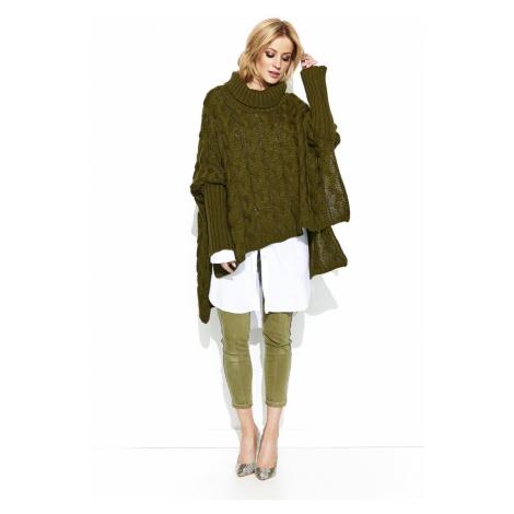 Makadamia Woman's Sweater MAKs71 Khaki